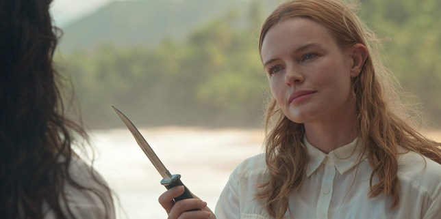 Kate Bosworth in a scene from The I-Land