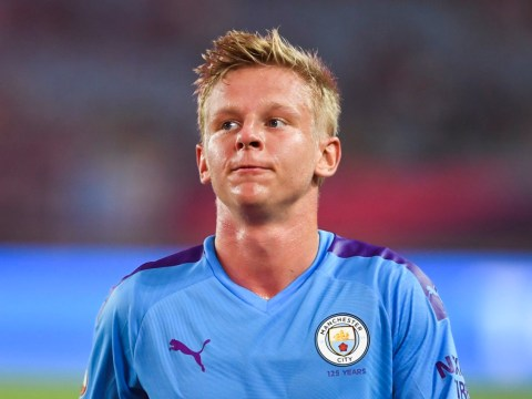 Oleksandr Zinchenko misses Manchester City's clash with Watford