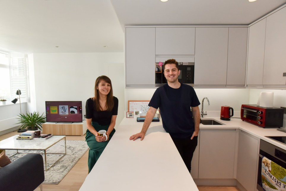 What I Rent: Leia and Evan, £1,600 a month for a flat in Kennington