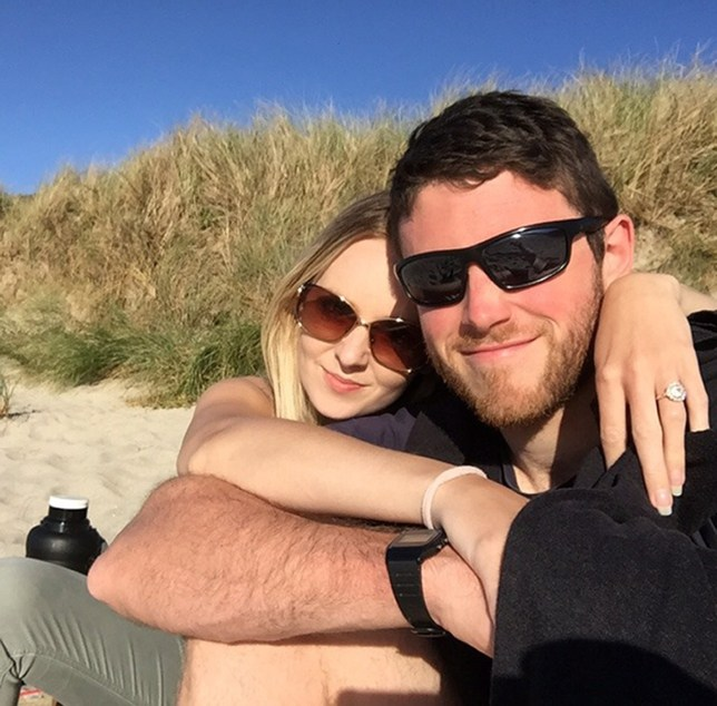 Murdered PC Andrew Harper, 28, and his wife, Lissie.