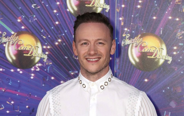 """LONDON, ENGLAND - AUGUST 26: Kevin Clifton attends the """"Strictly Come Dancing"""" launch show red carpet at Television Centre on August 26, 2019 in London, England. (Photo by Mike Marsland/WireImage)"""