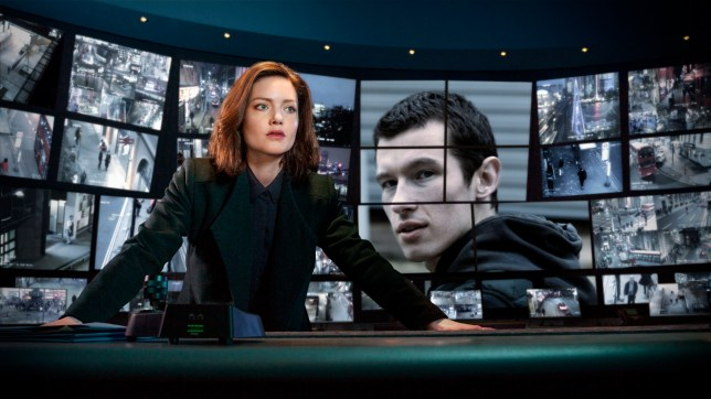 WARNING: Embargoed for publication until 00:01:01 on 13/06/2019 - Programme Name: The Capture - TX: n/a - Episode: n/a (No. n/a) - Picture Shows: DI Rachel Carey (HOLLIDAY GRAINGER), Shaun Emery (CALLUM TURNER) - (C) Heyday Films - Photographer: Guy Farrow