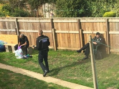 Bomb disposal experts called as man arrested over 'terror offences'