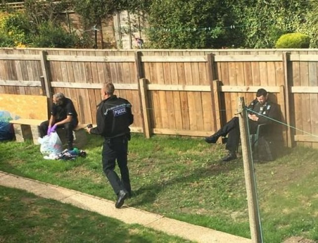 Bomb disposal experts called as man arrested over 'terror