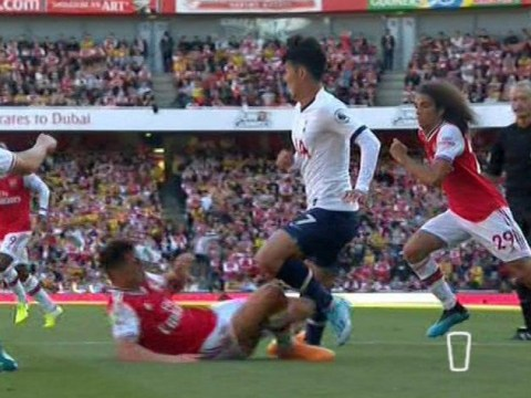 Graeme Souness and Gary Neville slam Granit Xhaka after 'disgraceful' foul against Tottenham