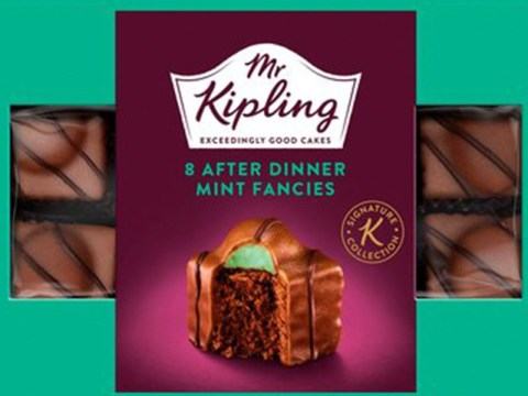 Mr Kipling mint fondant fancies are a thing and they're available to buy now