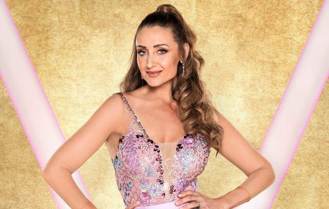 Catherine Tyldesley says Strictly Come Dancing is helping her become more self-confident