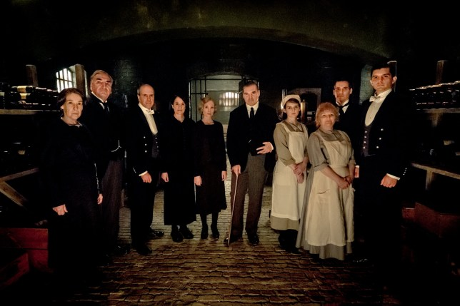 Maggie Smith, Michelle Dockery and the cast reprise their roles in the film adaptation of Downton Abbey