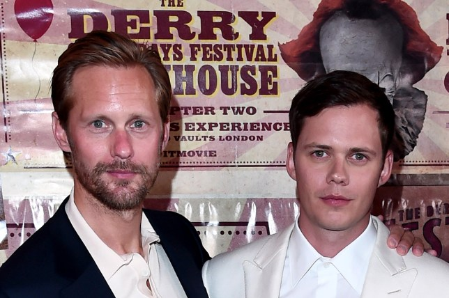 IT Chapter Two premiere is a Skarsgard family affair as Alexander Skarsgard supports brother Bill
