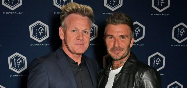 Gordon Ramsay David Beckham