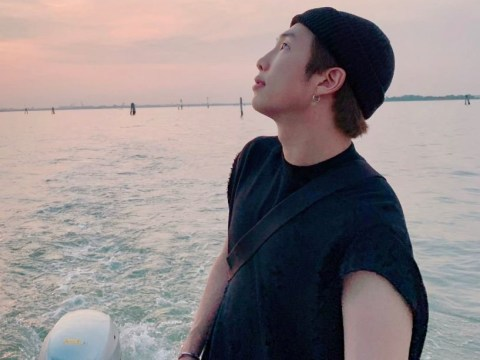 BTS's RM low-key slides into Italy and his holiday is a big mood
