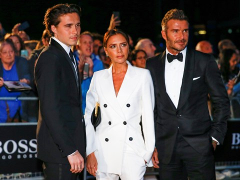 David and Victoria Beckham joined by son Brooklyn in family outing at GQ Men Of The Year awards