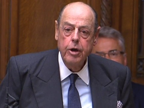 Sir Nicholas Soames makes tearful speech as he's expelled from the Tories