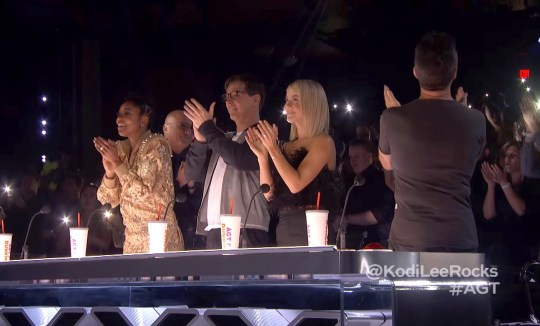 Picture: NBC America's Got Talent's Kodi Lee floors Simon Cowell again in semi-final with eye-watering performance