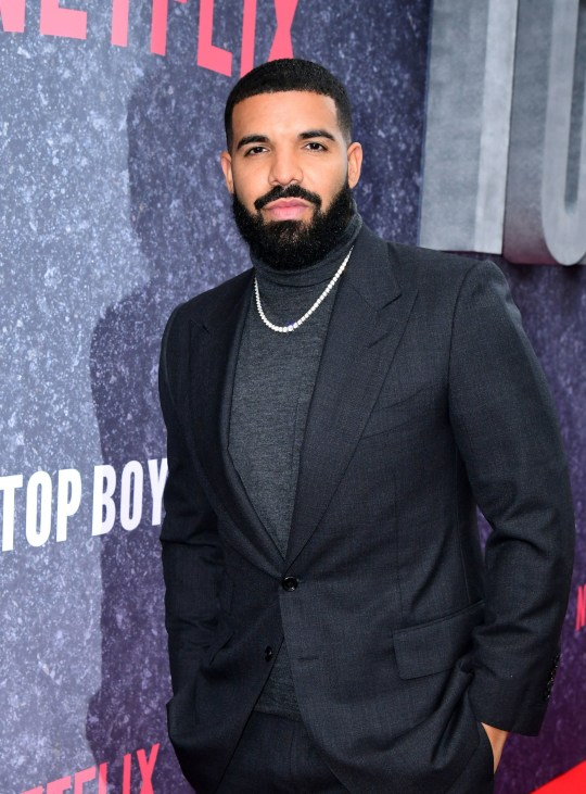 Drake attending the UK premiere of Top Boy at the Hackney Picturehouse in London. PA Photo. Picture date: Wednesday September 4, 2019. See PA story SHOWBIZ TopBoy. Photo credit should read: Ian West/PA Wire