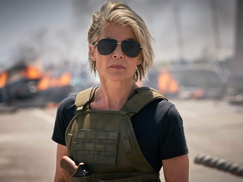 When is the new Terminator film out and how old is Linda Hamilton now?