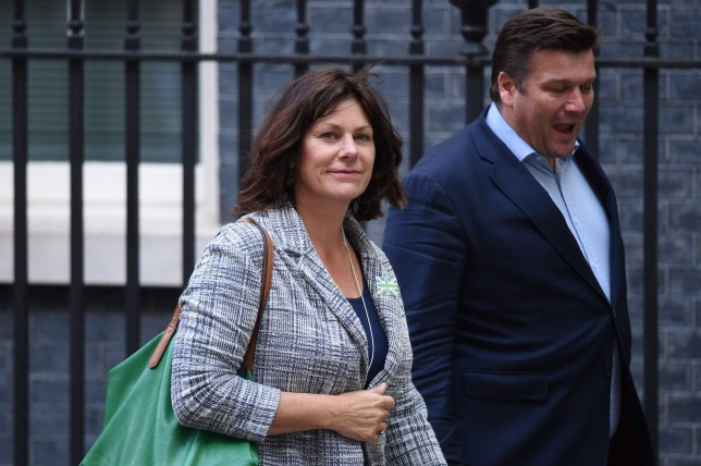 Conservative MP Clare Perry leaves no 10 Downing Street in central London on September 5, 2019. (Photo by Oli SCARFF / AFP)OLI SCARFF/AFP/Getty Images