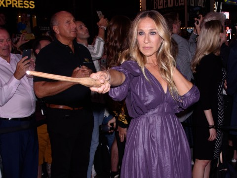 Sarah Jessica Parker is 'pure magic' as she casts a spell for Harry Potter