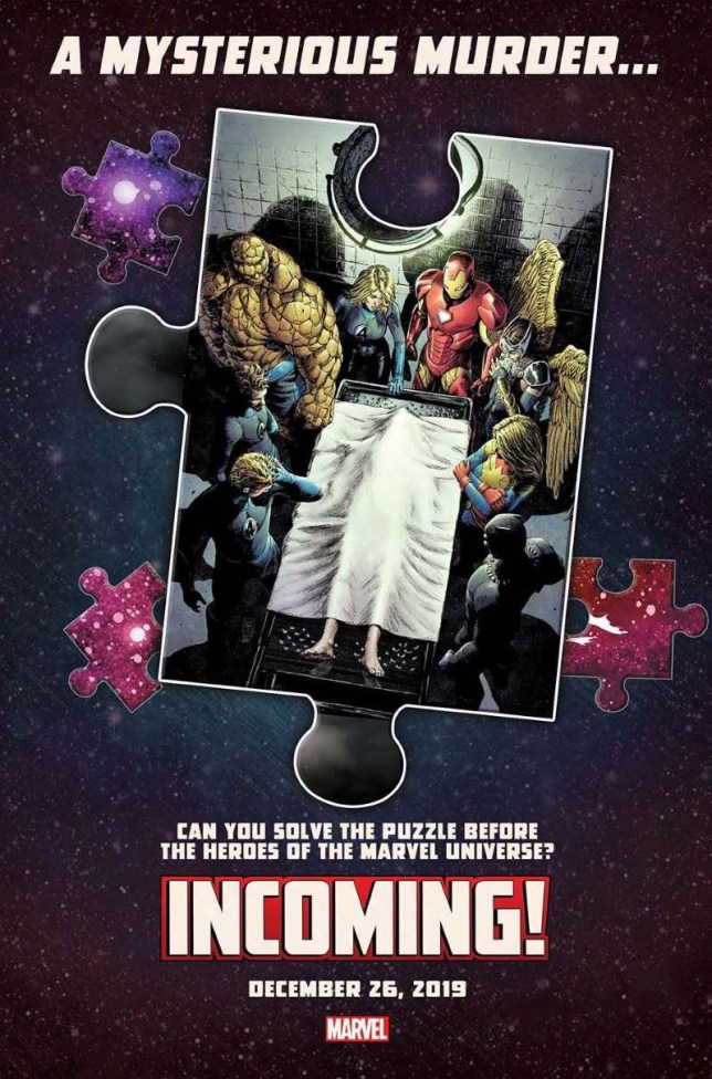 METROGRAB - Marvel tease death in comics