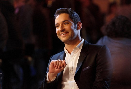 Lucifer is hotter than hell as Tom Ellis jokes about with fan backstage while filming season 5