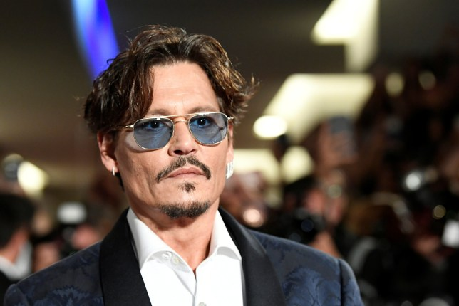 "The 76th Venice Film Festival -Screening of the film ""Waiting for the Barbarians"" in competition - Red Carpet Arrivals - Venice, Italy, September 6, 2019- Actor Johnny Depp poses. REUTERS/Piroschka van de Wouw"