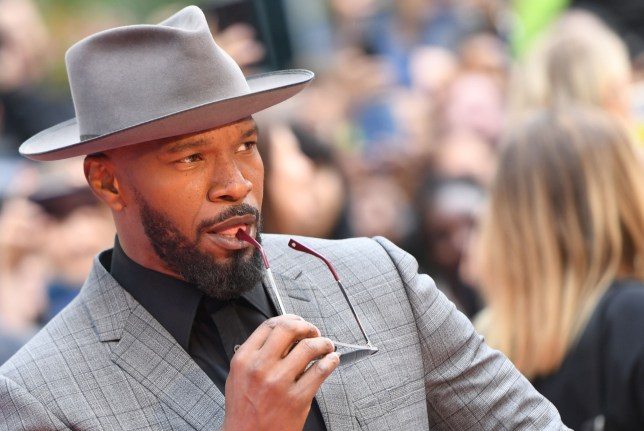 "US actor Jamie Foxx arrives for the premiere of ""Just Mercy"" at the Roy Thomson Hall during the 2019 Toronto International Film Festival Day 2, on September 6, 2019, in Toronto, Ontario. (Photo by VALERIE MACON / AFP)VALERIE MACON/AFP/Getty Images"