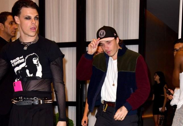 Brooklyn Beckham and Yungblud