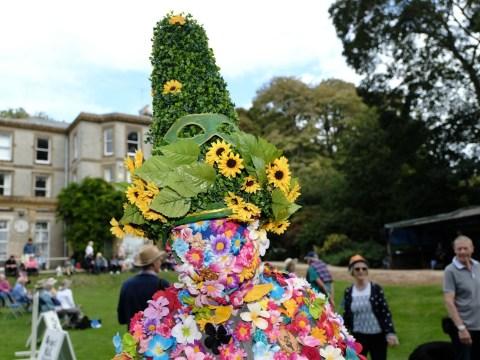 World's most outrageous headgear seen at Bridport Hat Festival