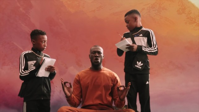 Stormzy Sounds of the Skeng video features his nephews