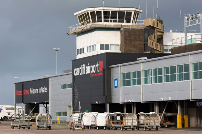 CARDIFF, UNITED KINGDOM - JANUARY 13: A general view of Cardiff Airport on January 13, 2016 in Cardiff, United Kingdom. (Photo by Matthew Horwood/Getty Images)