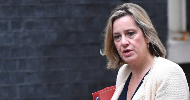 epa07815967 Britain's Secretary of State for Work and Pensions Amber Rudd arrives for a political cabinet in London, Britain, 04 September 2019. MPs will vote on a bill forcing Britain's Prime Minister Boris Johnson to delay Brexit unless MPs back a new deal or vote for a no-deal exit. The Prime Minister will table a motion to call for a general election if that bill passes. EPA/NEIL HALL