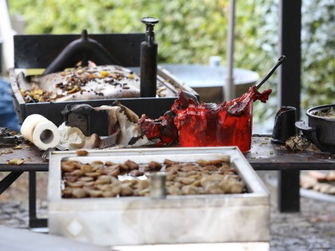 One dead after frying pan explodes at village fete
