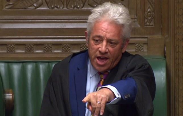 Speaker of the House of Commons John Bercow