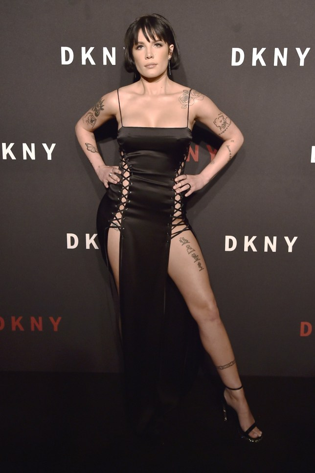 NEW YORK, NEW YORK - SEPTEMBER 09: Halsey attends the DKNY 30th Anniversary party at St. Ann's Warehouse on September 09, 2019 in New York City. (Photo by Steven Ferdman/Getty Images)