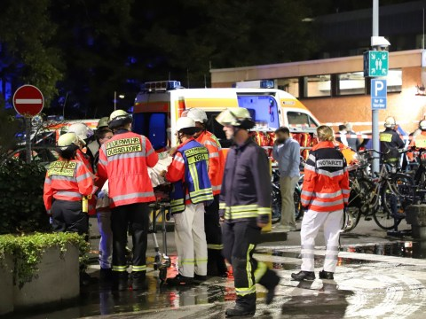 One dead and dozens injured after hospital fire in Germany