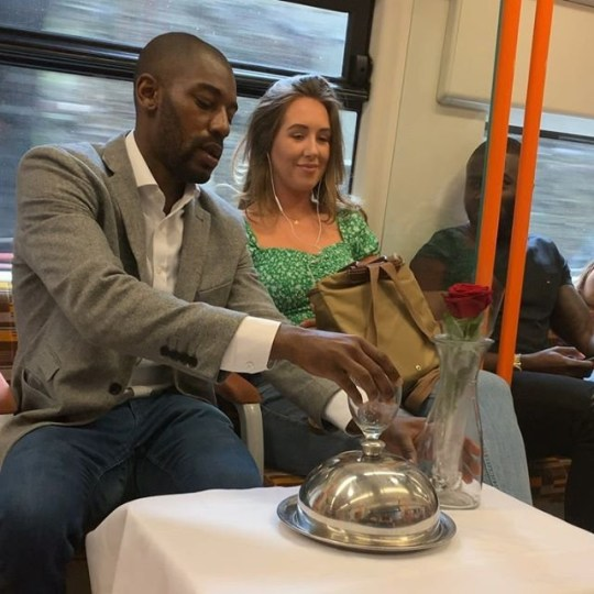 Prankster sets up fake date on London overground