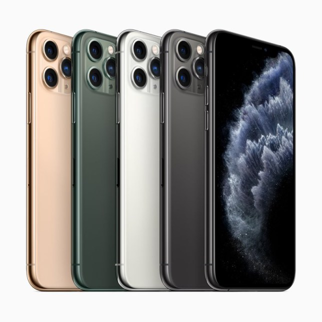 The iPhone 11 Pro (Apple)