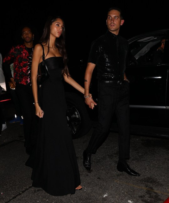 Halsey dodges ex G-Eazy as she rocks bustier to Rihanna's