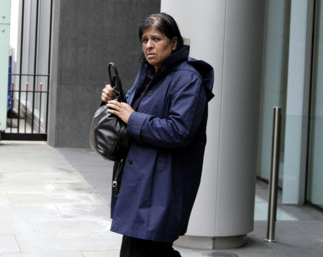 Champion News Service Ltd news@championnews.co.uk Tel: 07948286566/07914583378 Picture shows Rita Rea outside London's High Court.