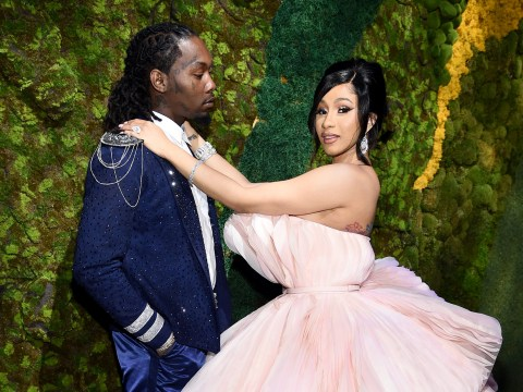 Cardi B ignores Tekashi69's gang claims as she celebrates second wedding anniversary with Offset