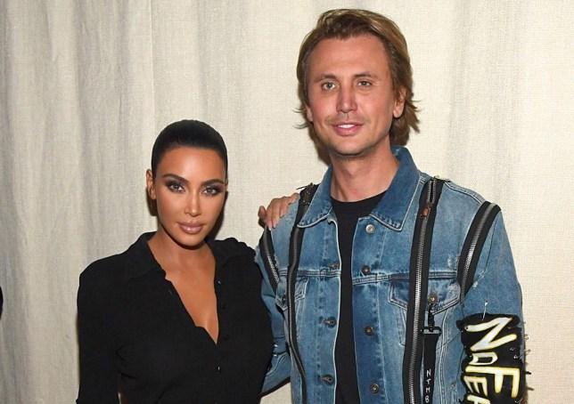 NEW YORK, NEW YORK - SEPTEMBER 12: Kim Kardashian West and Jonathan Cheban attend KKW Beauty KKWxWinnie dinner at L'Avenue in Saks Fifth Avenue on September 12, 2019 in New York City. (Photo by Kevin Mazur/Getty Images for KKW Beauty)