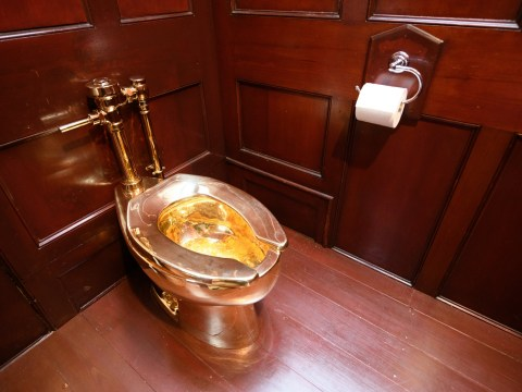 Solid gold toilet stolen from Blenheim Palace now valued at £4.8 million