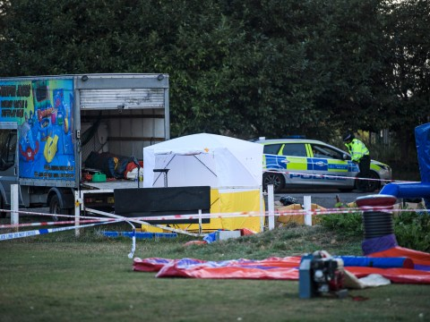 Man, 29, stabbed to death near inflatable fun fair in London's 109th killing