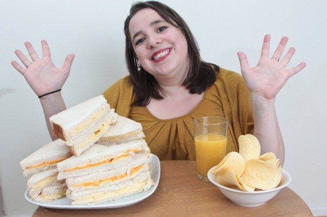 Mum with severe food phobia has lived off a diet of cheese sandwiches for almost 30 years
