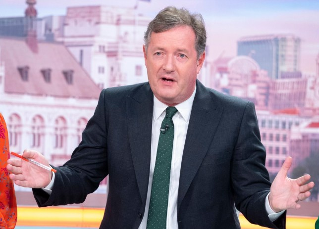 Editorial use only Mandatory Credit: Photo by Ken McKay/ITV/REX (10415044ch) Piers Morgan 'Good Morning Britain' TV show, London, UK - 16 Sep 2019