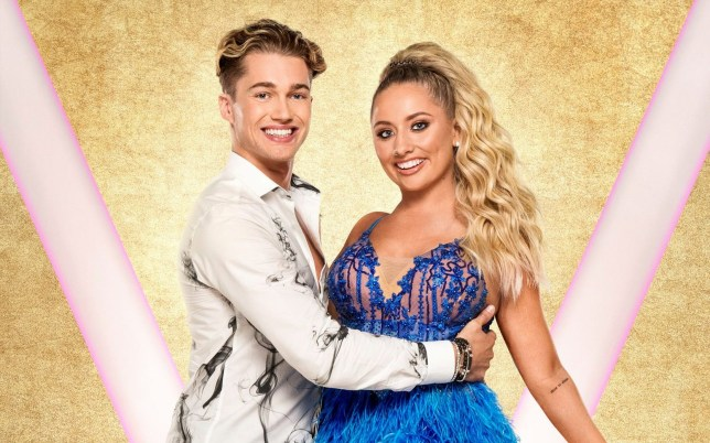 Strictly come dancing AJ pritchard and Saffron Barker