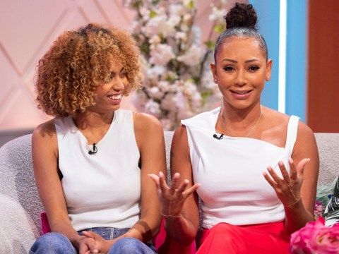 Mel B opens up on giving the sex talk to 'terrified' daughter Phoenix