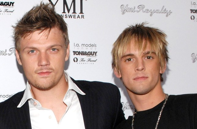 Nick Carter and Aaron Carter