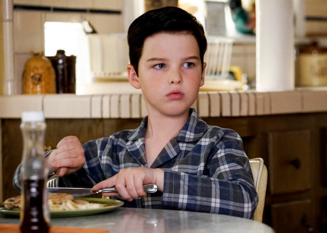 Young Sheldon: Sheldon (Iain Armitage)