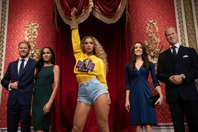 Beyonce takes rightful place in Madame Tussauds and replaces the Queen